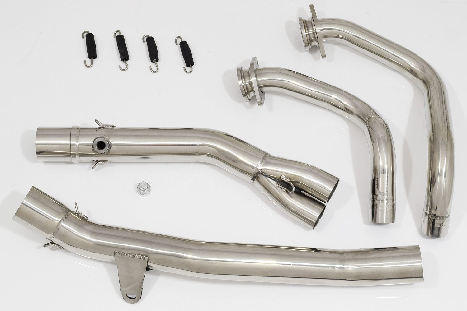 crf africa twin de cat performance race downpipes